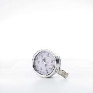 Stainless Steel & Fillable Gauges
